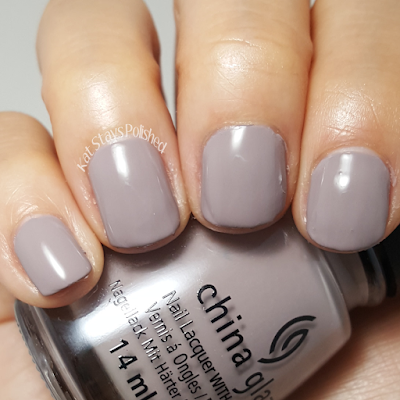 China Glaze Rebel Collection 2016 - Dope Taupe | Kat Stays Polished