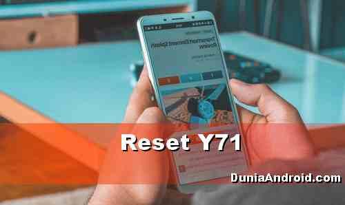 Cara Reset Vivo Y71 saat Sistem Error atau Lupa Pola