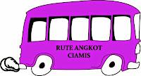 rute angkot di Ciamis, Jawa Barat