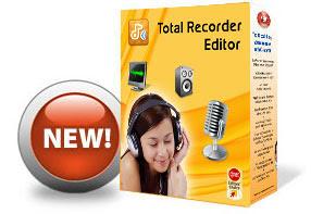 Total Recorder Editor,تسجيل الصوت من الكمبيوتر والمايكروفون