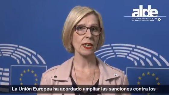 Eurodiputada exige que chaburros puedan mover dinero producto de la corrupción