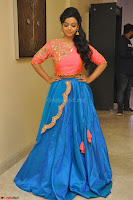 Nithya Shetty in Orange Choli at Kalamandir Foundation 7th anniversary Celebrations ~  Actress Galleries 043.JPG