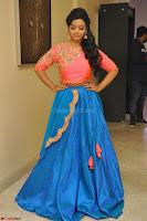 Nithya Shetty in Orange Choli at Kalamandir Foundation 7th anniversary Celebrations ~  Actress Galleries 043.JPG