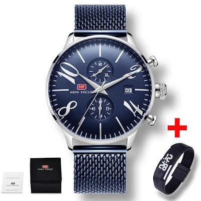4947 MINIFOCUS Watches| 5 Summer Quartz Watches Under $50