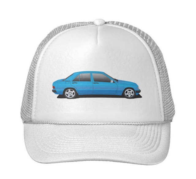 Mercedes-Benz W201 190E caps
