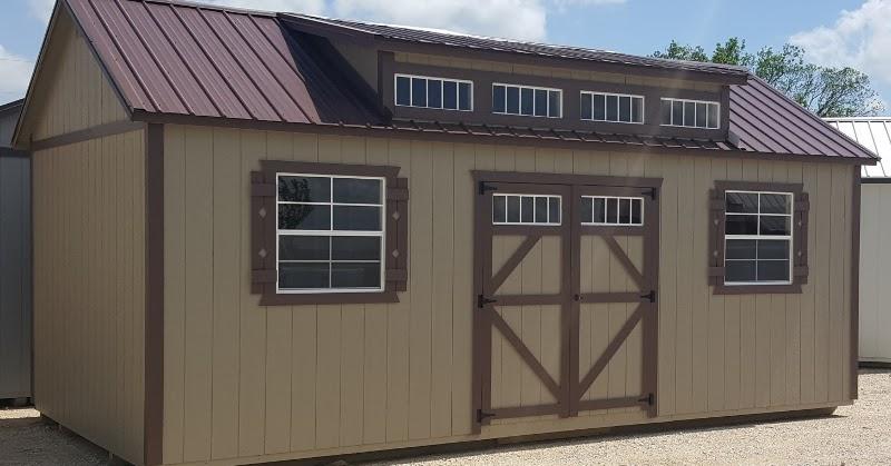 Wolfvalley Buildings Storage Shed Blog Brand New Dormer