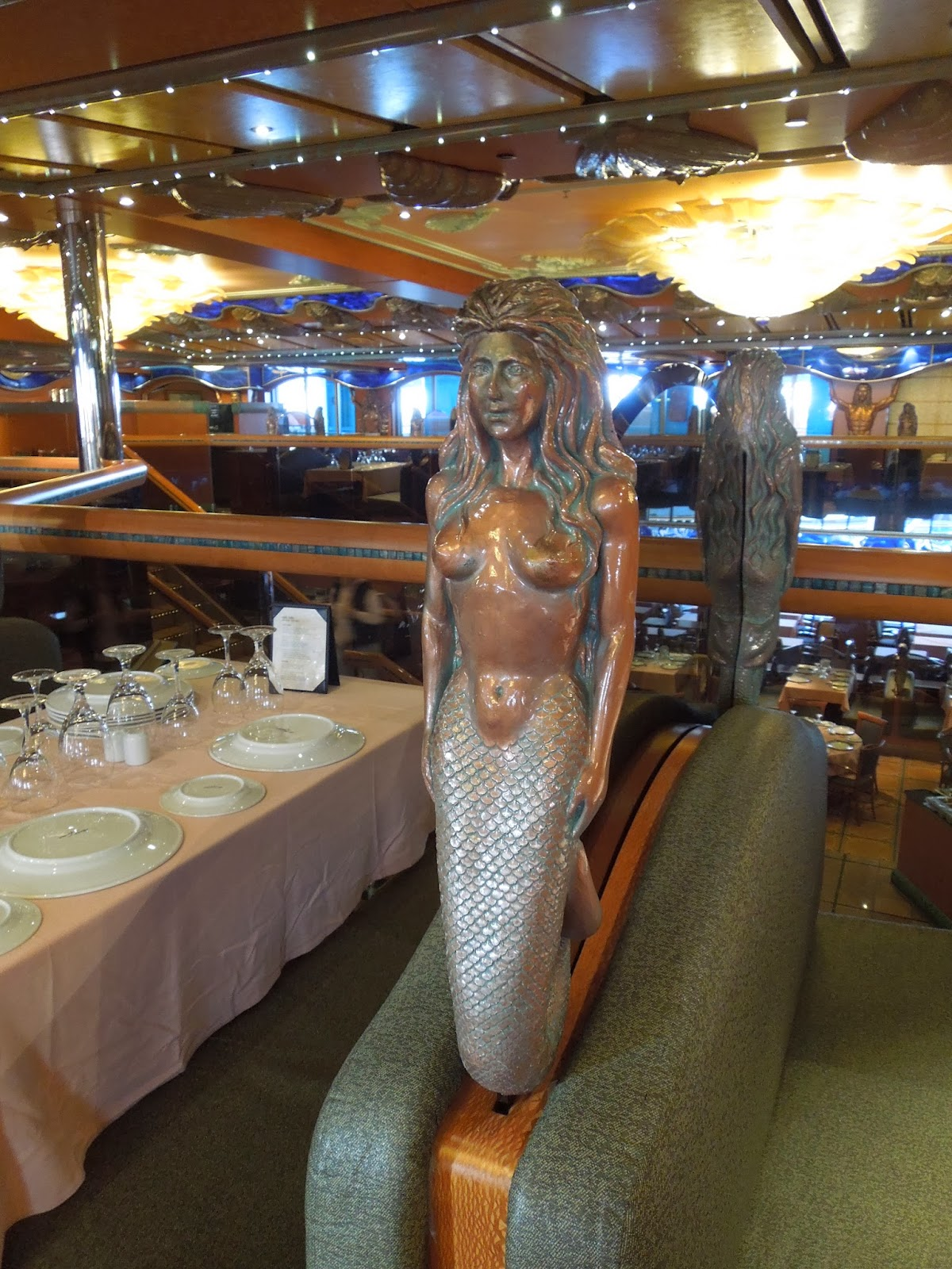 dining room mermaid