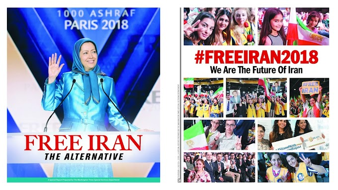 Free Iran 2018 Convention, Special Report Prepared by The Washington Times
