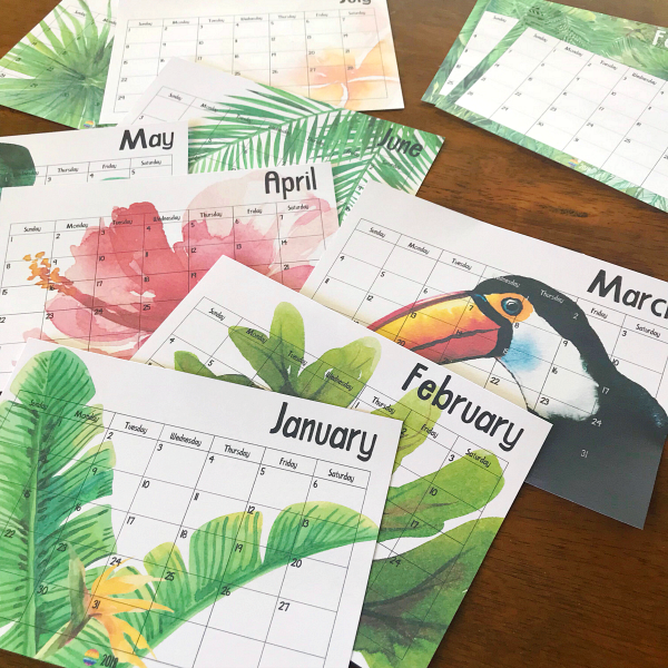 Tropical Calendar | you clever monkey