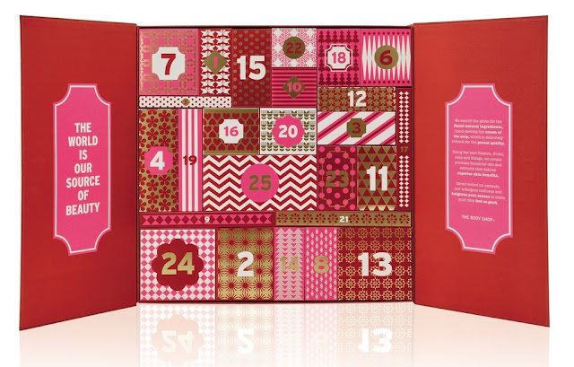 Bodyshop 2016 advent calendar