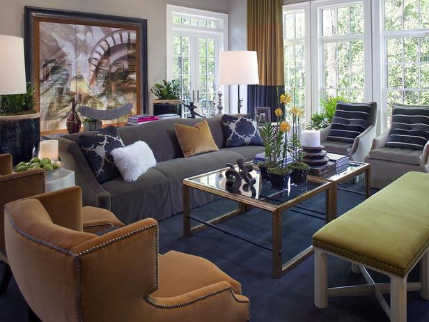 Modern Furniture: 2012 Candice Olson Living Room Design Tips