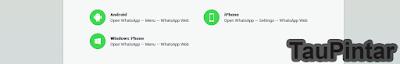 Cara mudah Membuka WhatsApp Tanpa Aplikasi