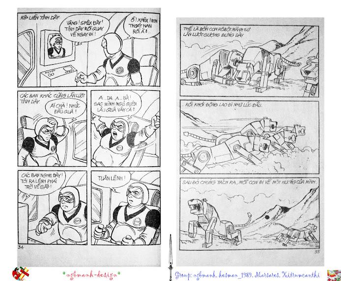 Dũng Sĩ Hesman tập 2 - hesman xuất hiện trang 19