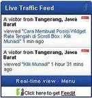 widget cara mengetahui pengunjung blog