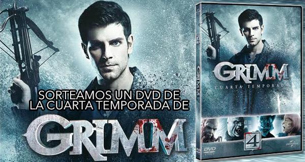 Quieres un DVD con la 4ª temporada de la serie Grimm? Apúntate a ...