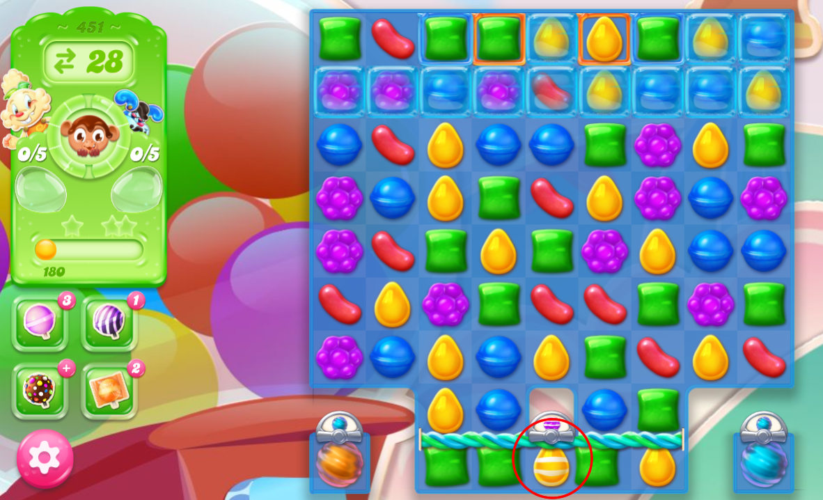 Candy Crush Jelly Saga 451