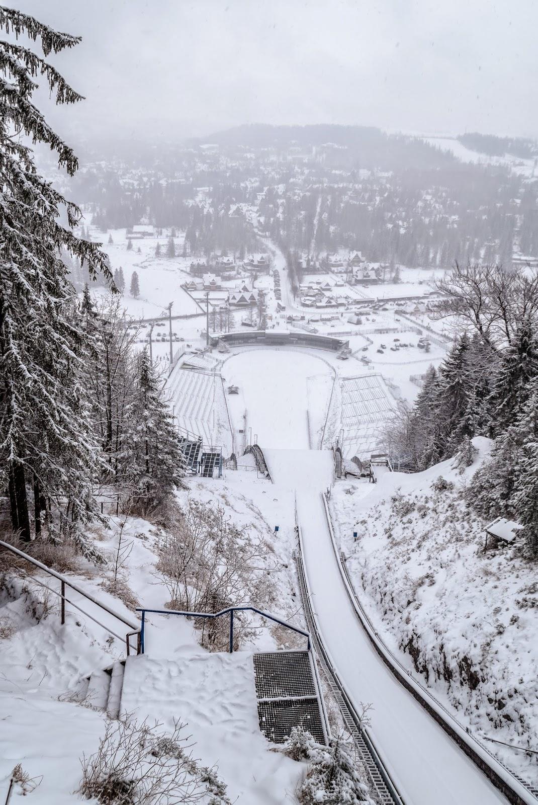 pologne hiver zakopane tatras