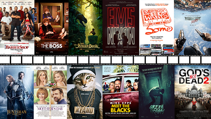 The April 2016 Movie Preview