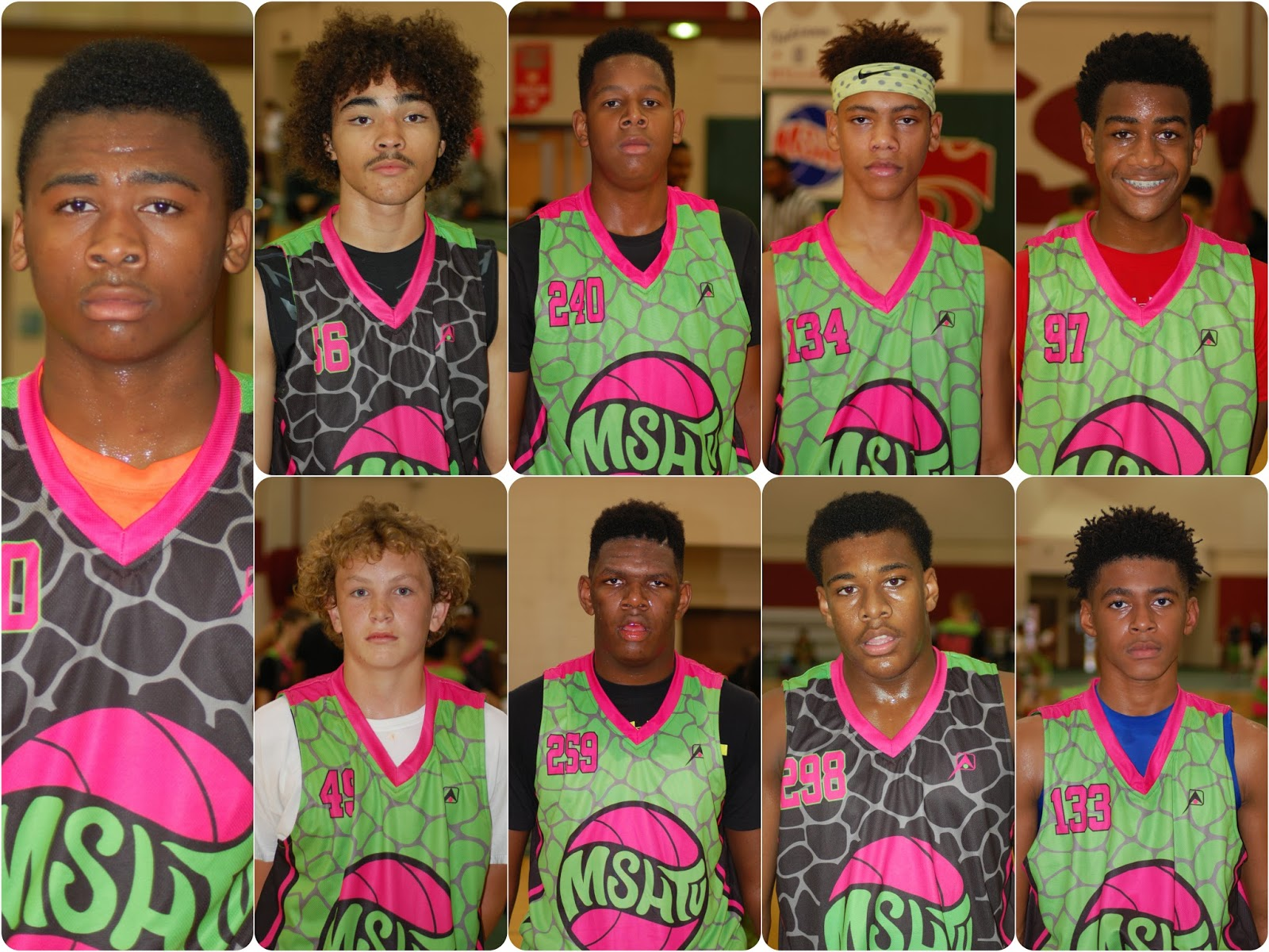 Middle School Hoops Camp Day I Standouts