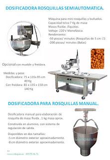 Dosificadora Rosquillas (masa blanda/semi liquidas)