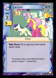 My Little Pony Lie Low Equestrian Odysseys CCG Card