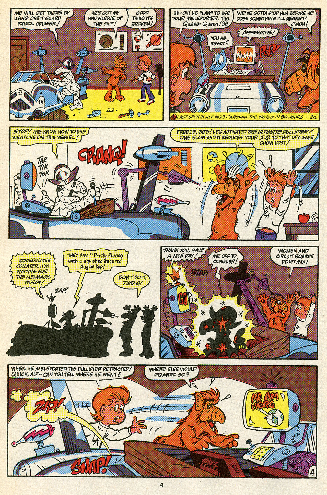 Read online ALF comic -  Issue #39 - 6
