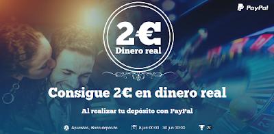 paf consigue 2 euros dinero real ingresando paypal