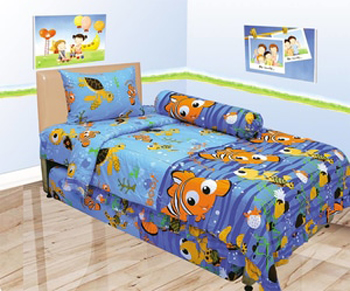 Sprei Lady Rose Single Nemo