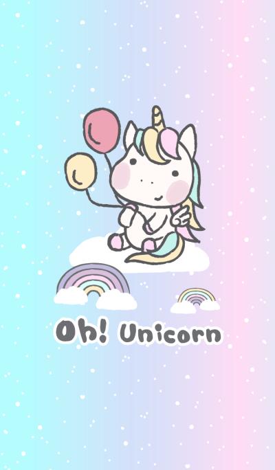 Oh! Unicorn (Balloons)