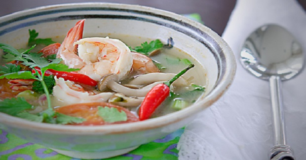 Tom Yum Goong, The Thai Style Hot And Sour Soup Recipe