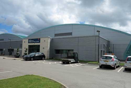 Manchester Tennis & Football Centre, UK.