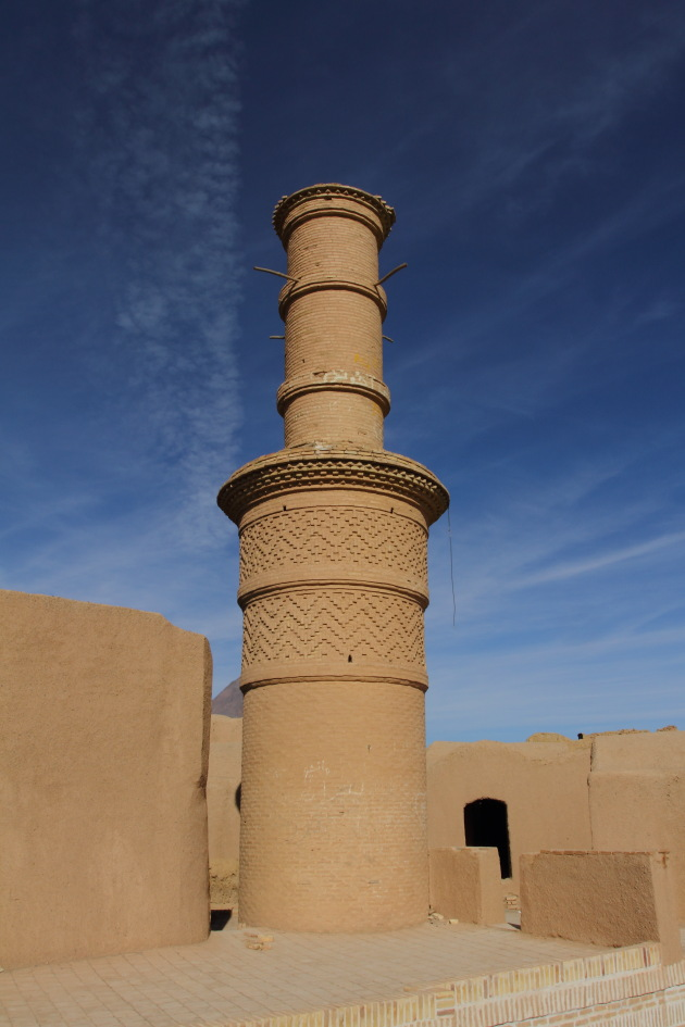 Shaking Minaret at Kharanaq, Iran