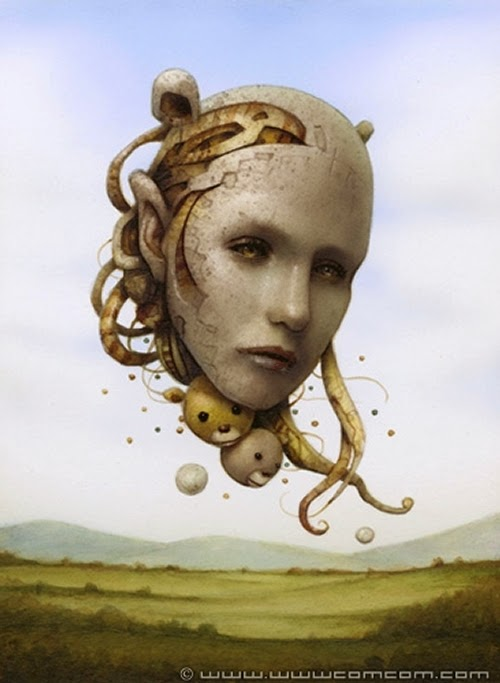 12-Mind-Creating-Naoto-Hattori-Dream-or-Nightmare-Surreal-Paintings-www-designstack-co