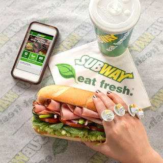 Subway Menu Canada Prices April 21 - August 18, 2017