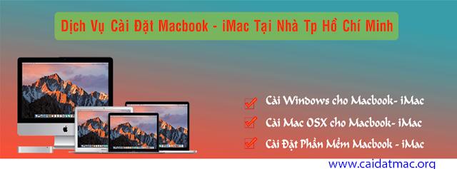 Cài Macbook Tại Nhà Tân Bình