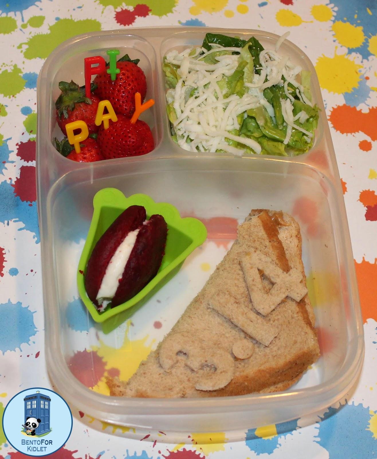 Bento For Kidlet Pi Day