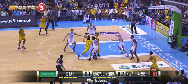 Ginebra def. Star Hotshots, 116-103 in Manila Clasico (REPLAY VIDEO) August 28
