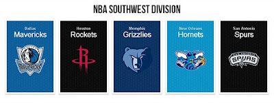 NBA 2K13 Southwest Division Court Pack Mod