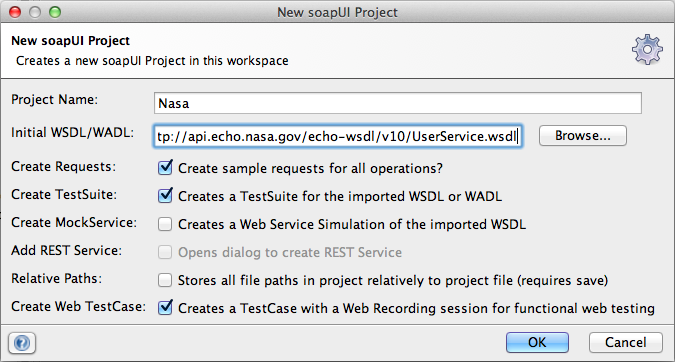 Soapui Wsdl