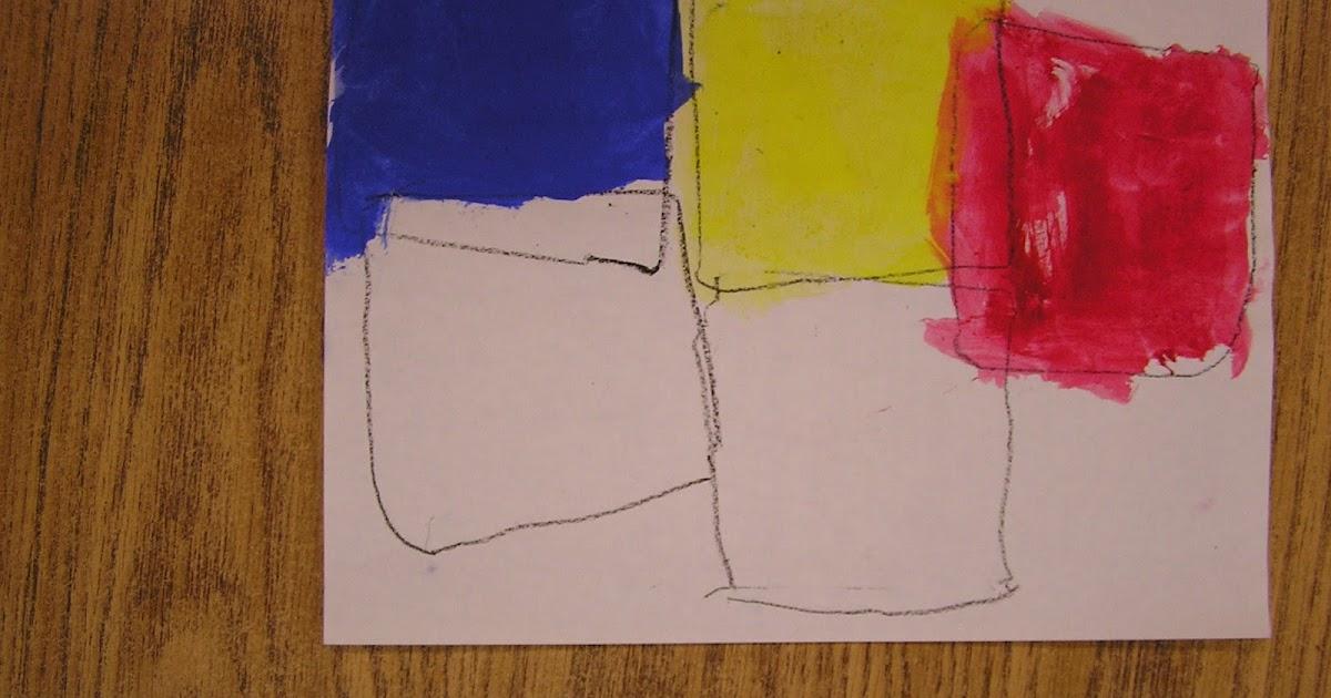 B Art: B Art Z- Elementary Art: Piet Mondrian