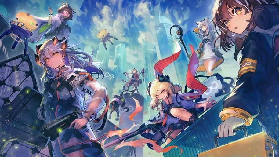 Anime, Girls, Arknights, Game, 4K, #6.1787