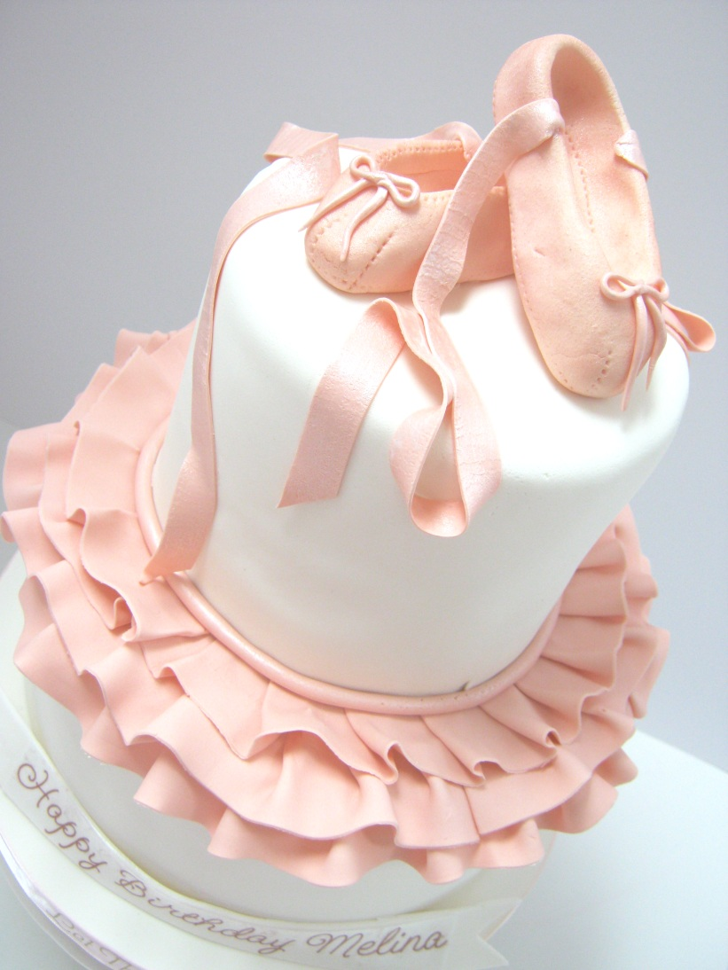Birthday Cake Ballet Shoes