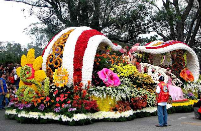 Panagbenga Festival Float Parade