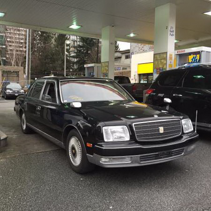 There's A 2000 Toyota Century V12 For Sale In Canada