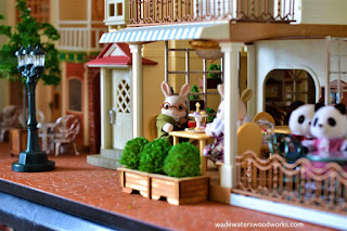 Sylvanian Families Courtyard Restaurant
