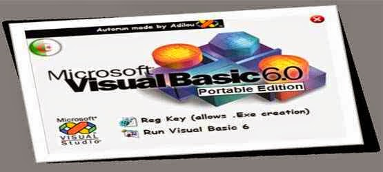 Free Download Visual Basic 6.0 Portable