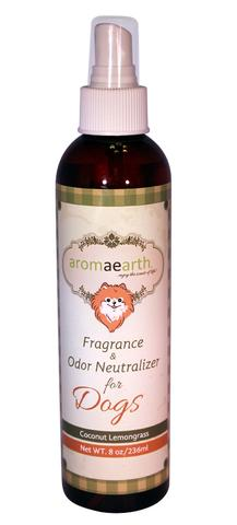 Keep Your Pets Exercised And Smelling Fresh With Aromaearth Pet Spray Fragrance & Odor Neutralizer for Dogs