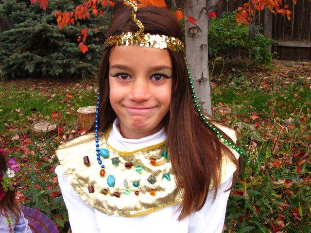 collar egipcia para disfraces escolares