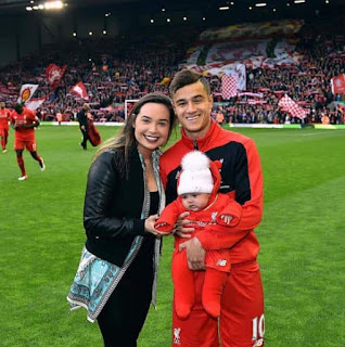 Philippe Coutinho Aine Baby