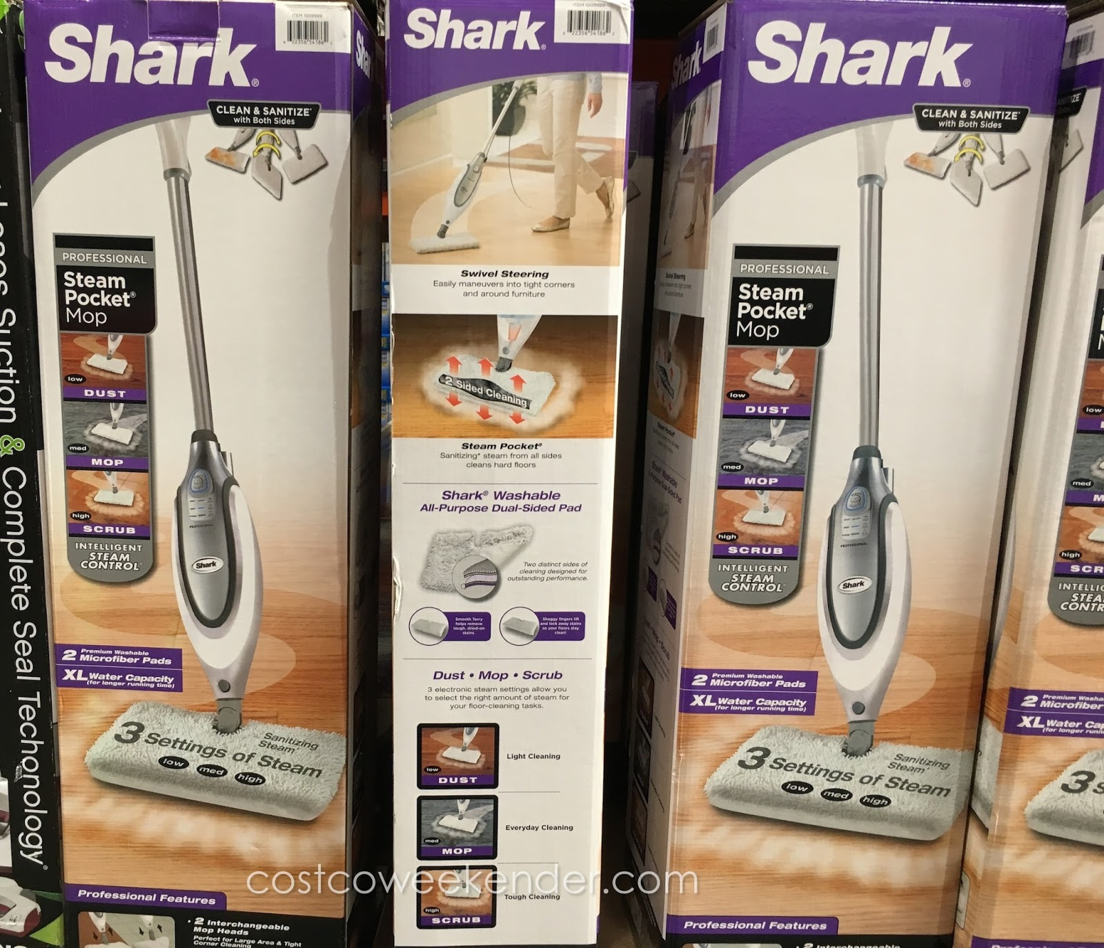 Shark Professional Steam Pocket Mop Costco Weekender